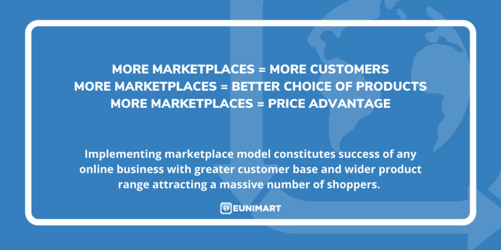 More marketplaces more customers