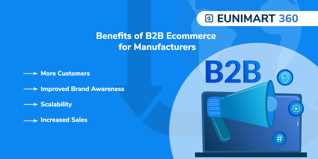 Benefits of B2B Ecommerce for Manufacturers