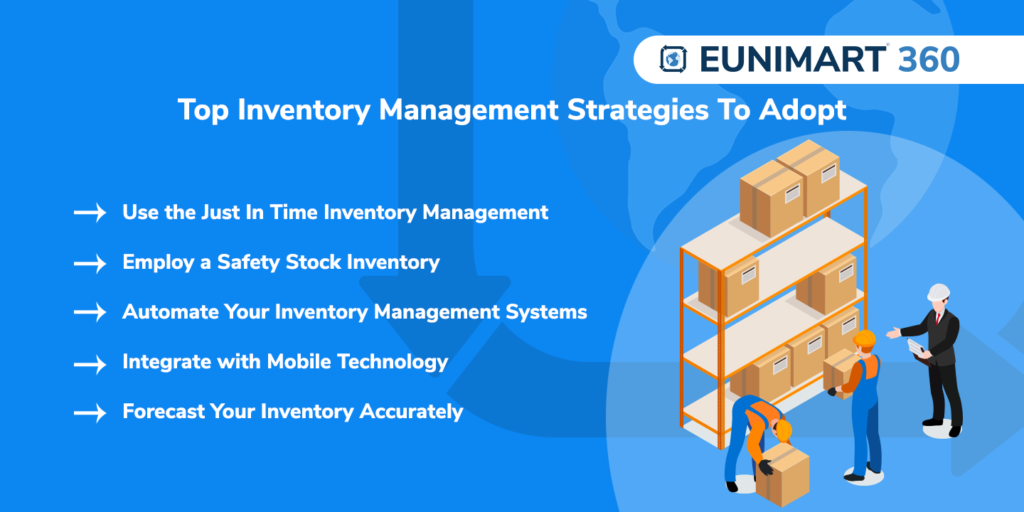 Top Inventory Management Strategies To Adopt
