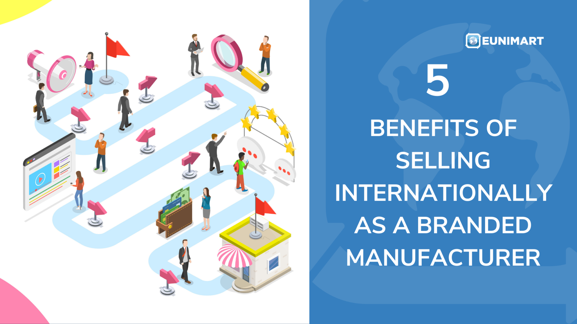 5 Benefits of Selling Internationally as a Branded Manufacturer