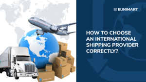 How to choose an international shipping provider