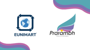 Eunimart participates in the #VirtualShowcase at Prarambh.
