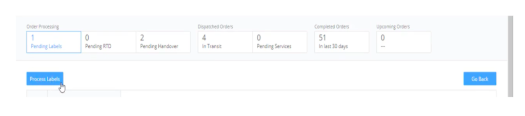 Flipkart order fulfilment screen five
