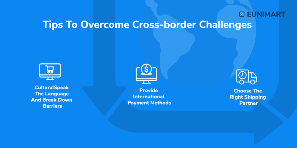 Tips to overcomes cross-border challenges