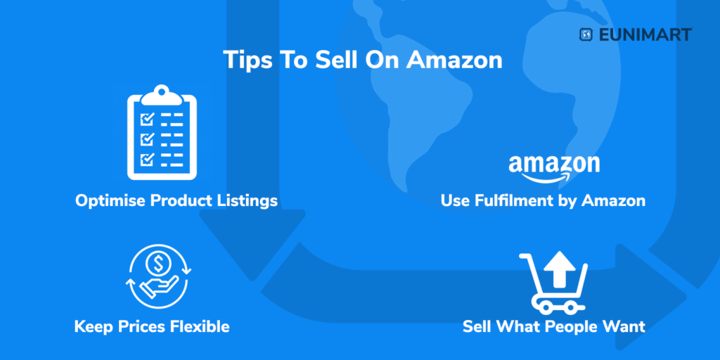 tips to sell on amazon