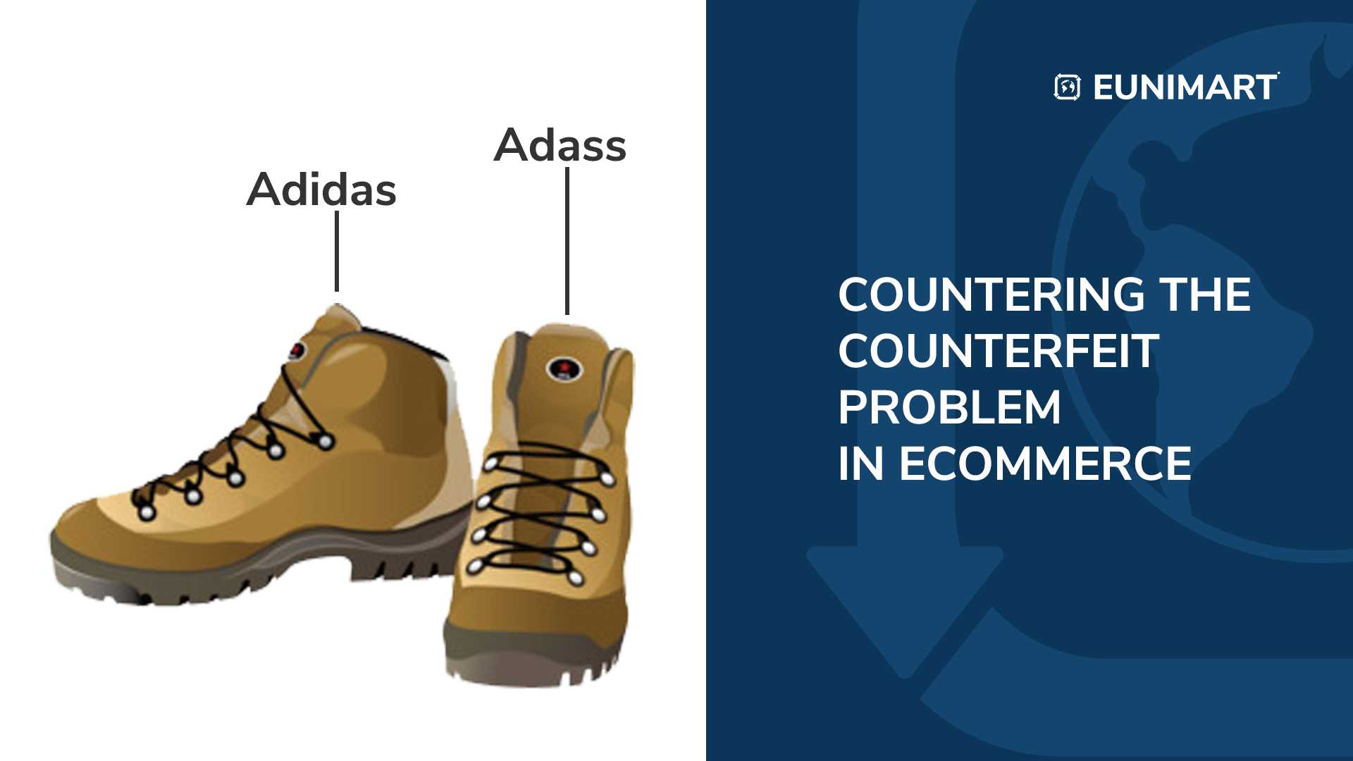Solution to the counterfeit goods problem in ecommerce