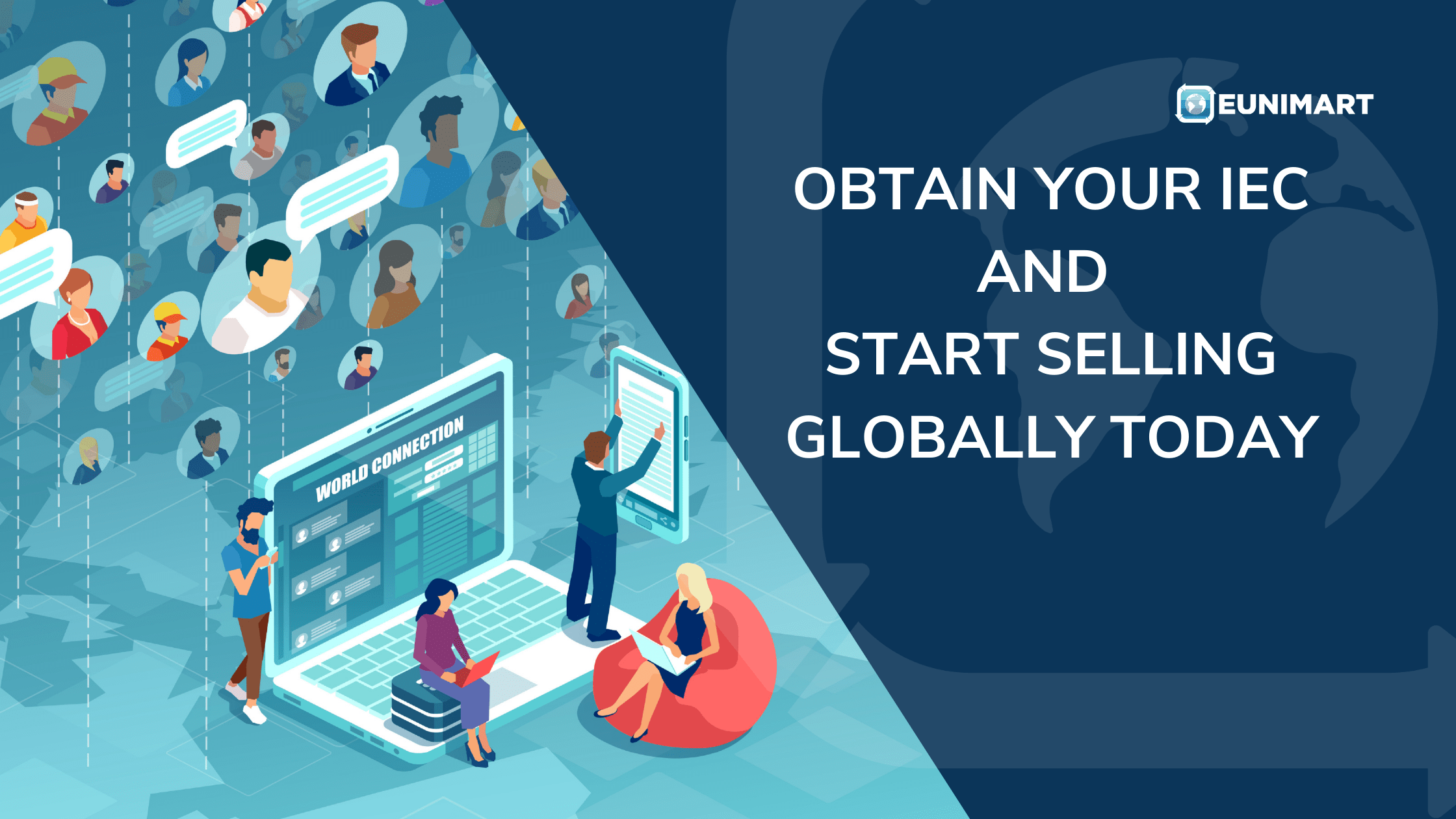 Obtain your IEC and start selling Globally today