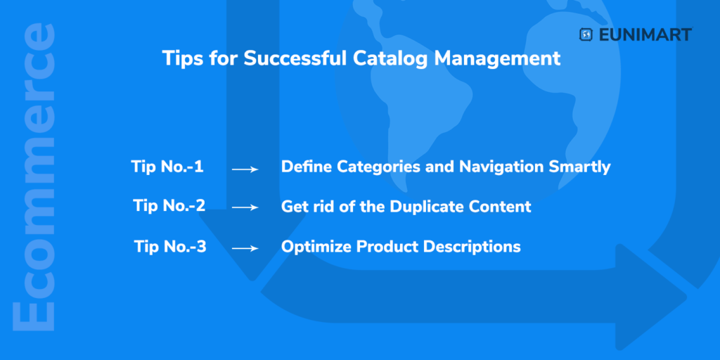 tips for successful catalog management